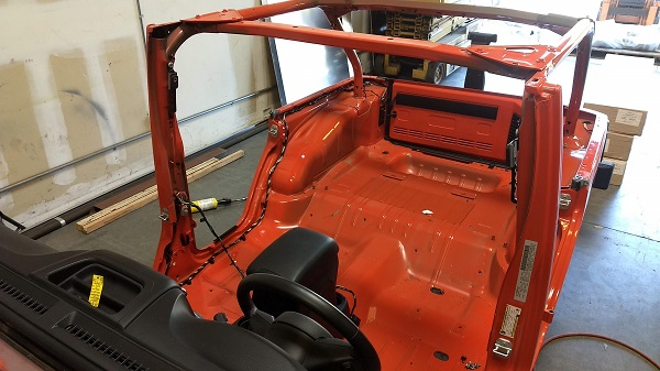 Ready for GenRight Roll Cage