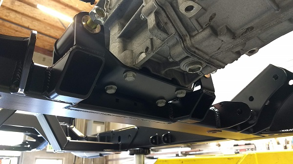 Custom Tarns bracket fits perfect!